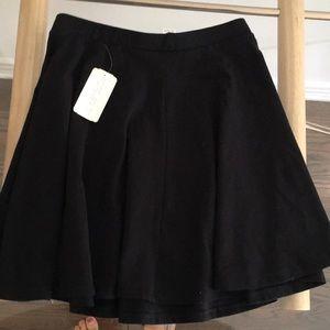 Brand new black skater skirt
